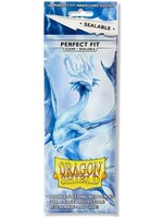 Dragon Shields Perfect Fit Sealable: (100) Clear