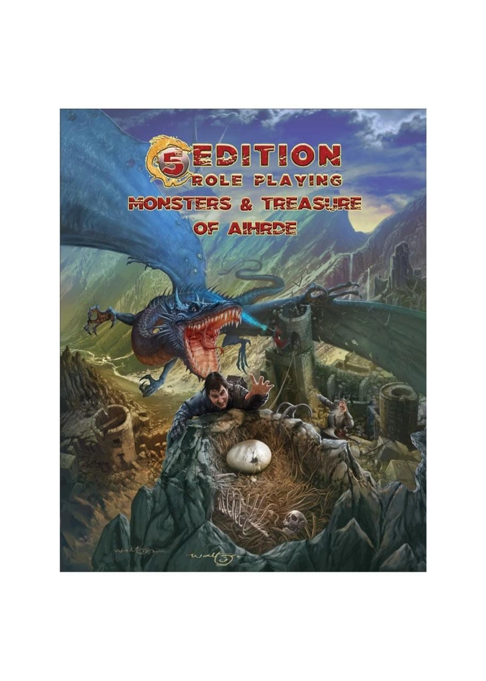 5th Edition Adventures: Monsters & Treasure of Aihrde