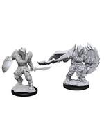 Dungeons & Dragons Nolzur's Marvelous Unpainted Miniatures: W15 Dragonborn Fighter Male
