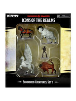 Dungeons & Dragons Fantasy Miniatures: Icons of the Realms Summoned Creatures, Set 1