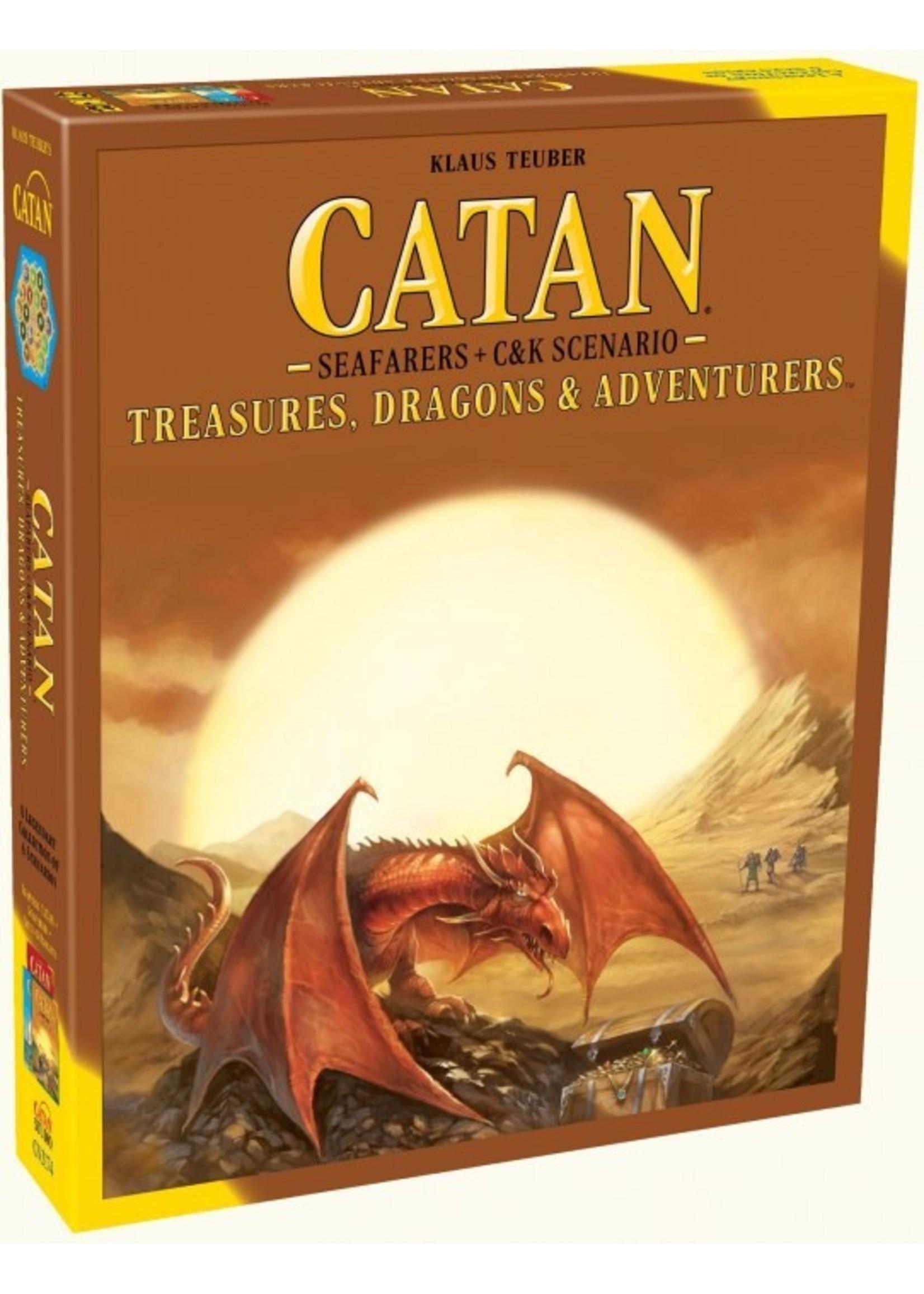 Catan Exp: Treasures, Dragons & Adventurers