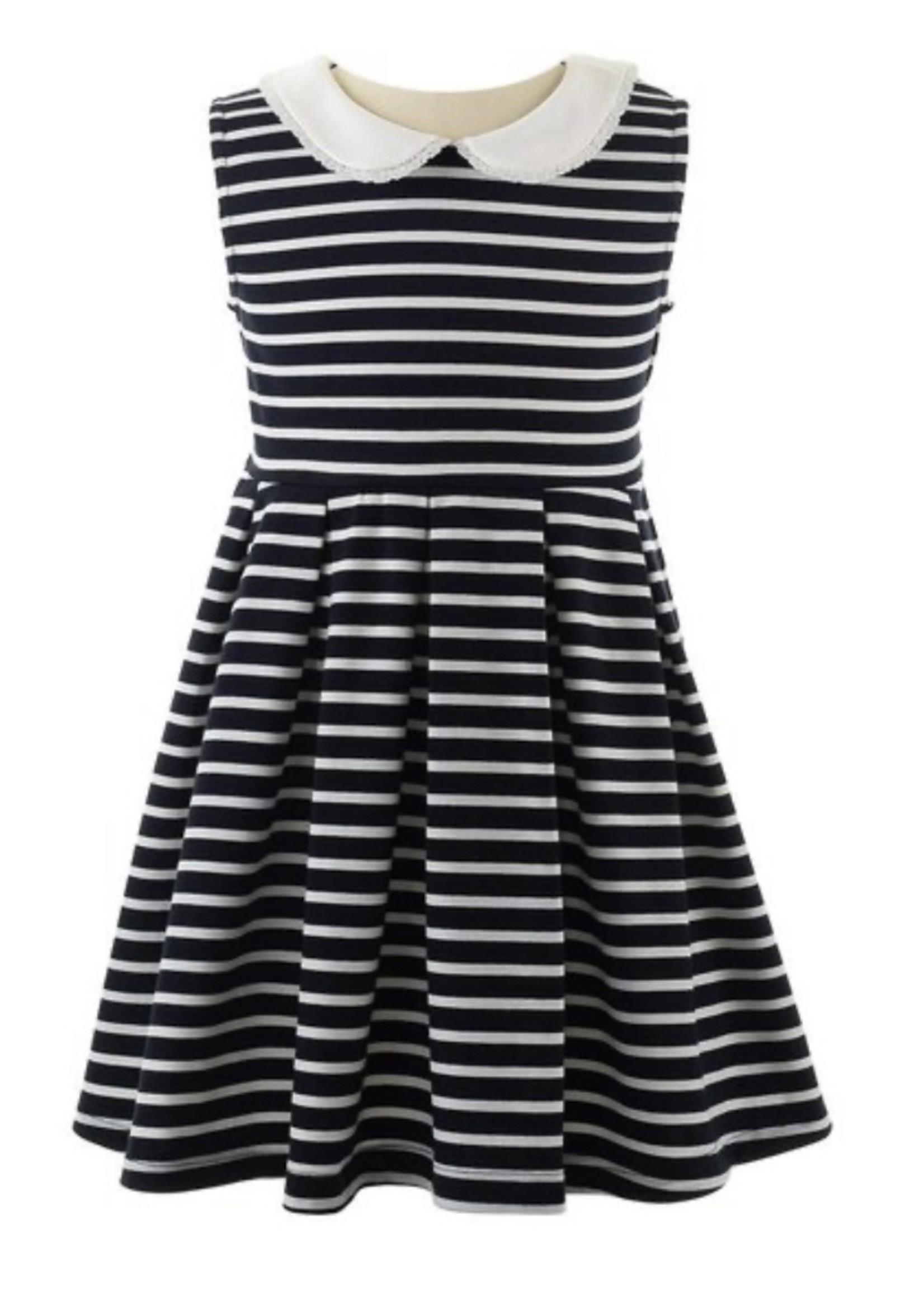 B/I Breton Stripe Jersey Dress