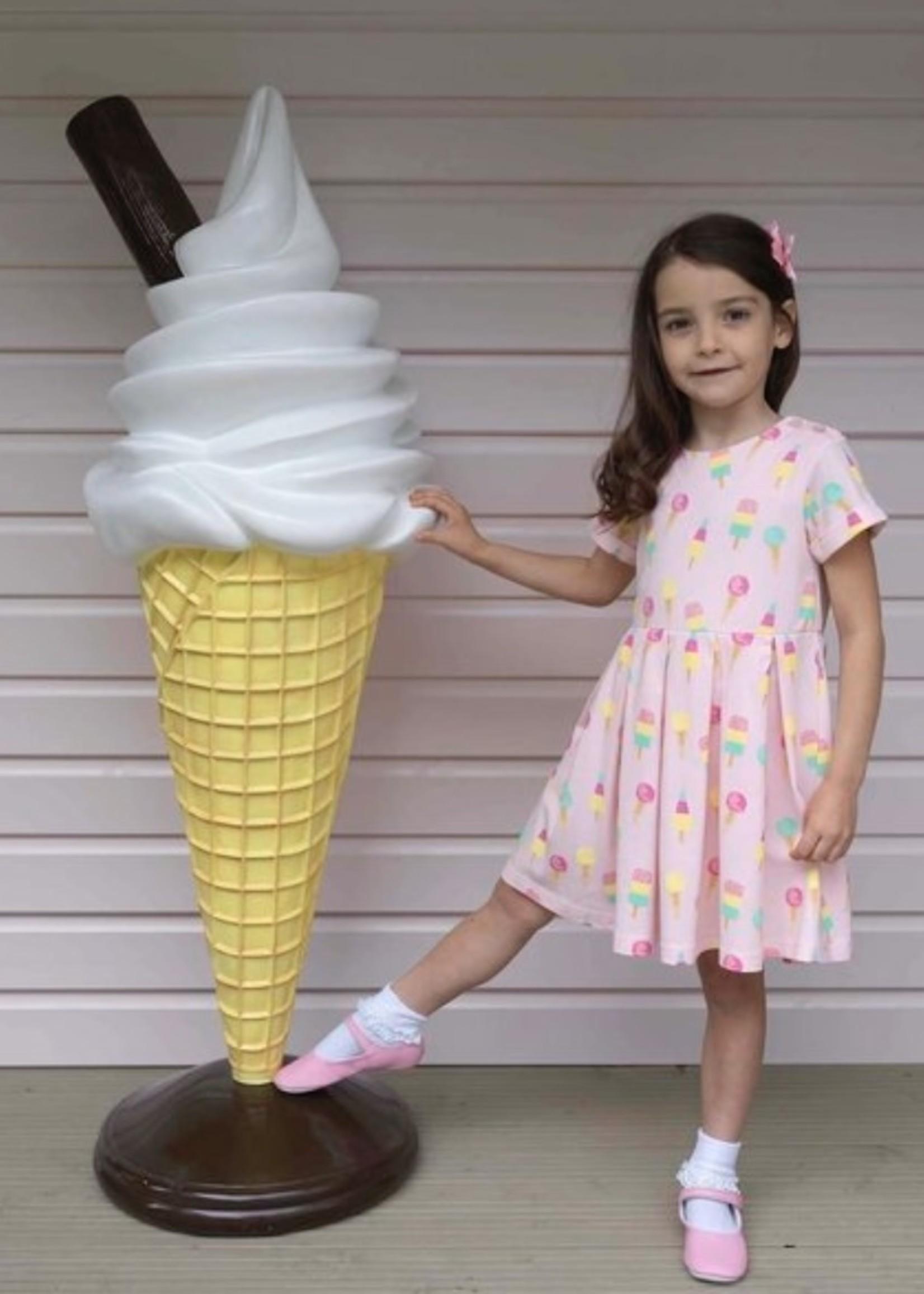 ICE CREAM JERSEY DRESS