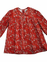 GINNY: RED FLORAL