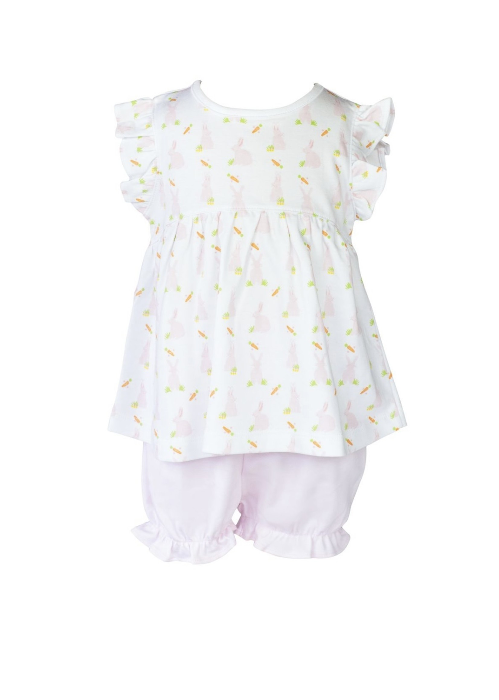 PINK BUNNY BLOOMER SET