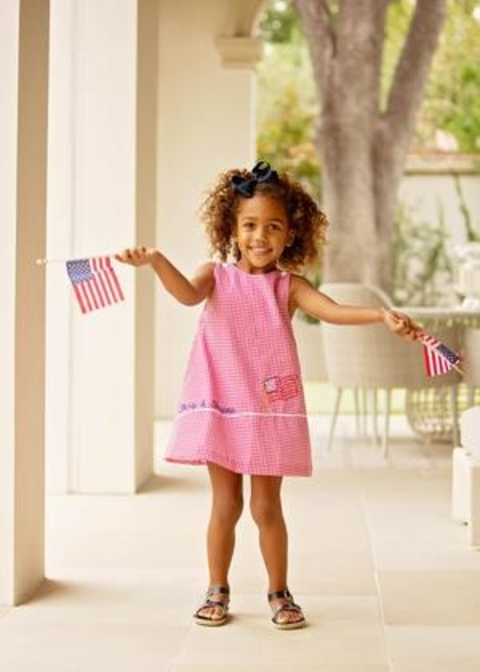 STARS STRIPES BLOOMER SET