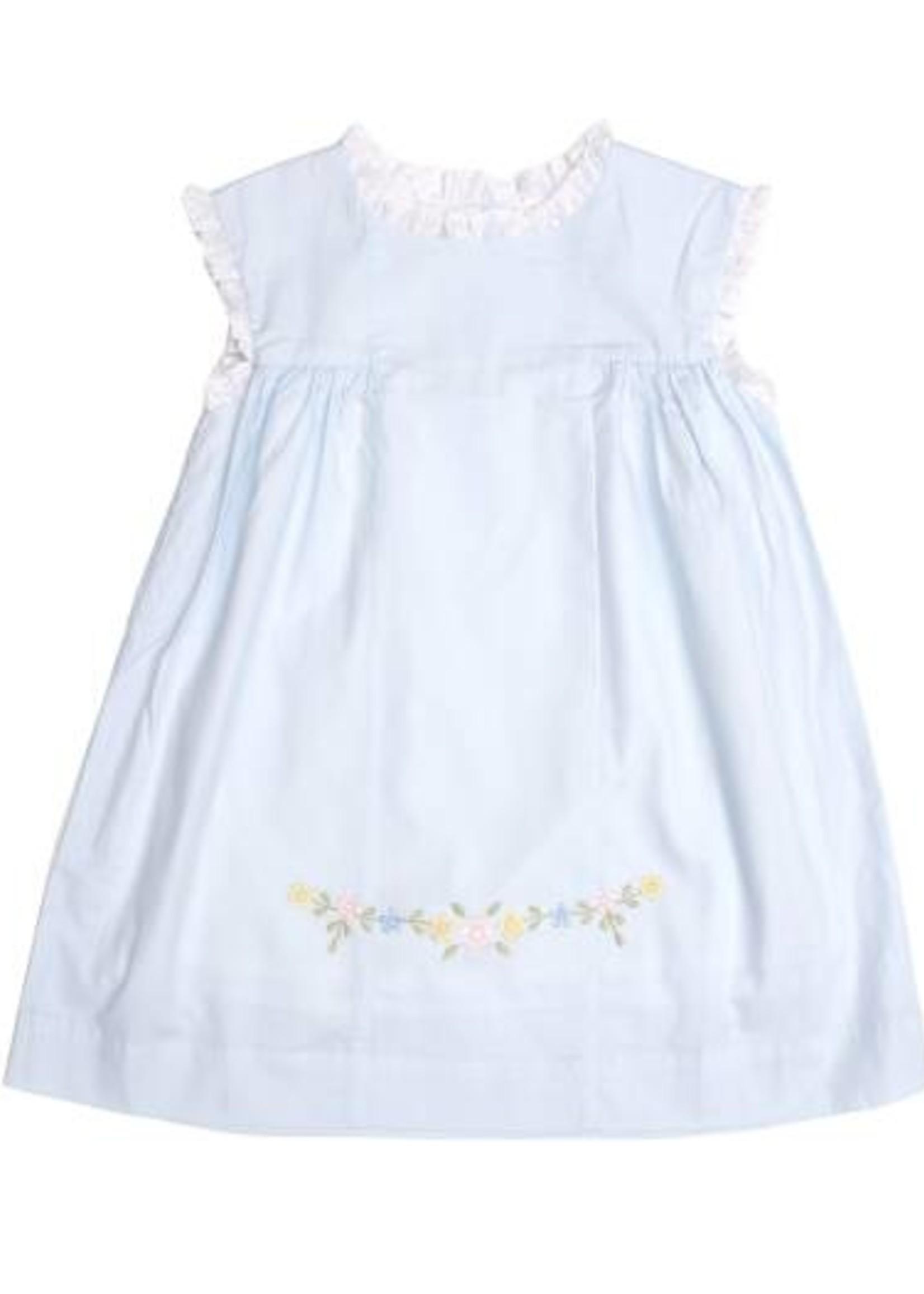 ANIKA BLUE FLOWERED DRESS