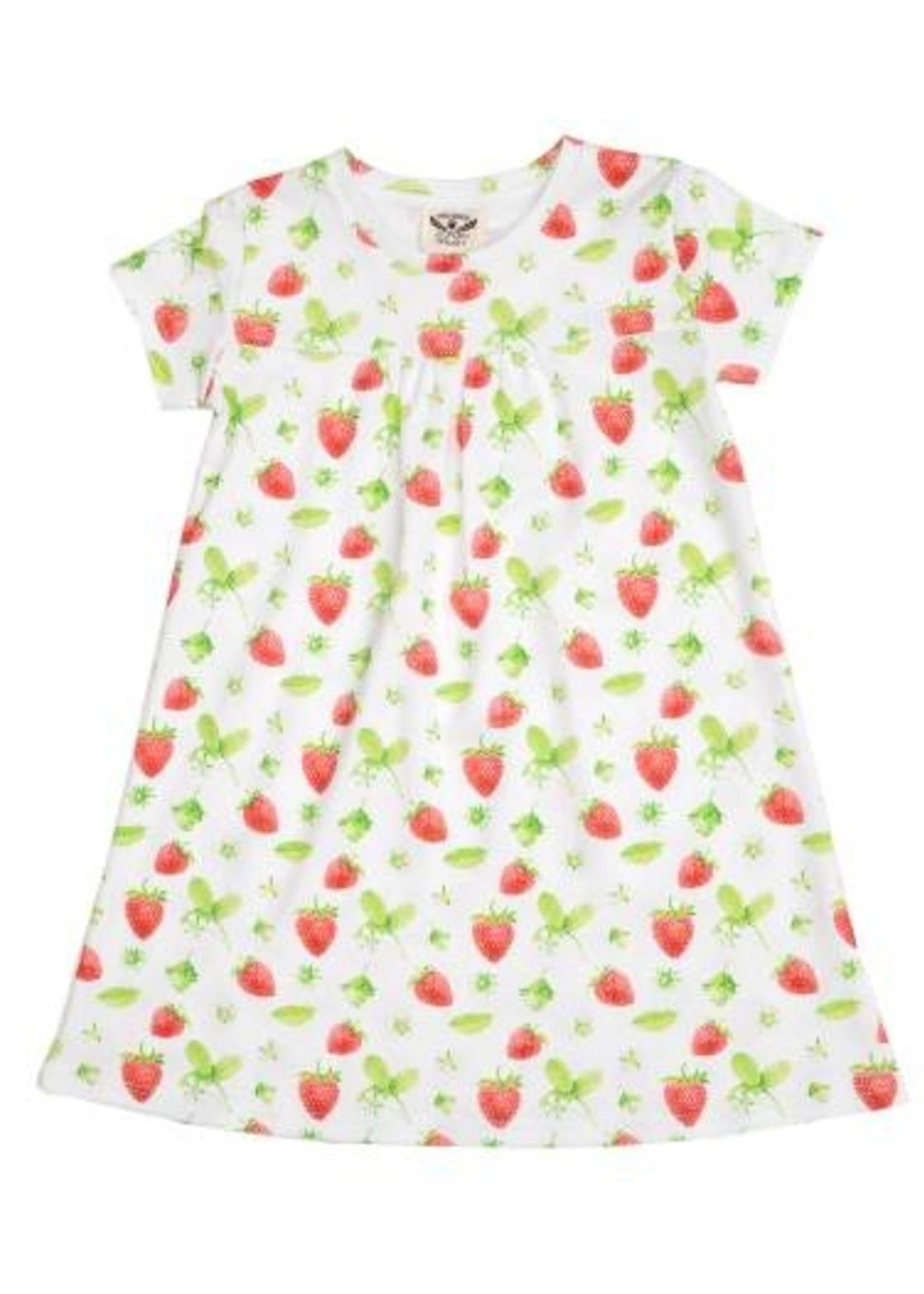STRAWBERRY LOUNGE DRESS