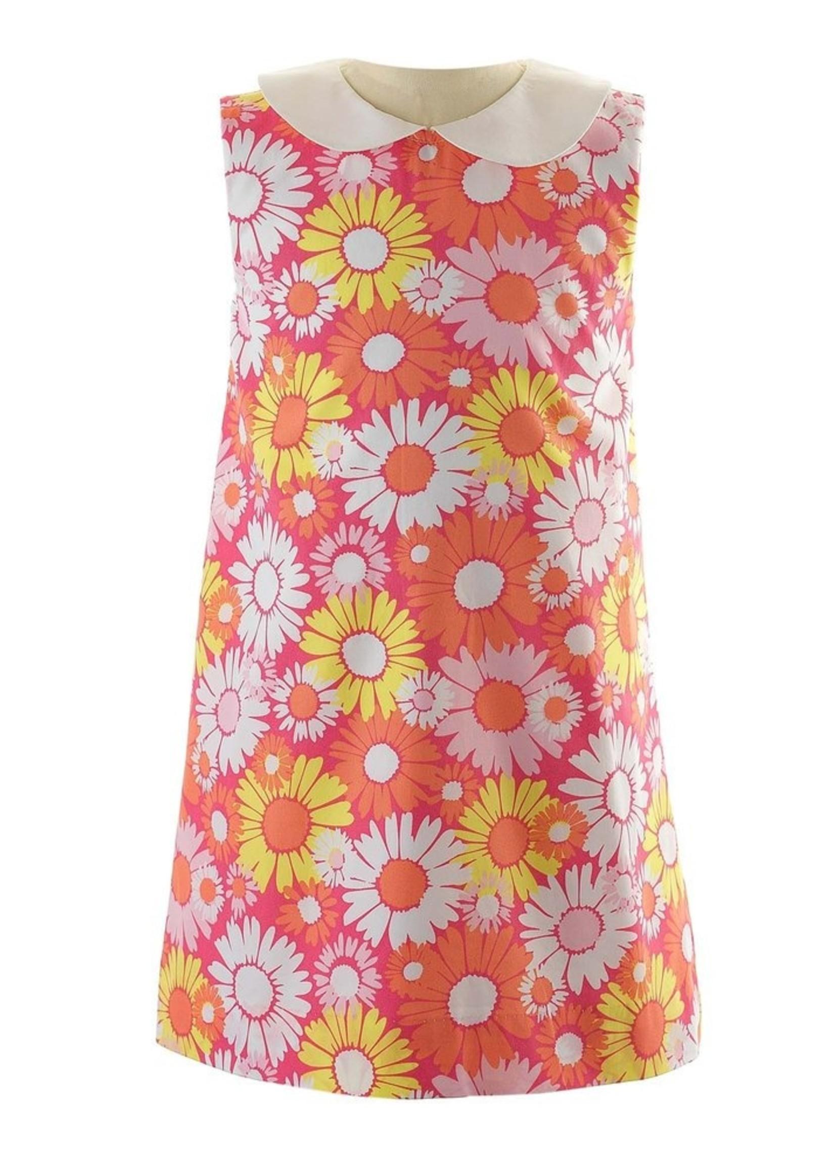 FLOWER 60'S SHIFT DRESS