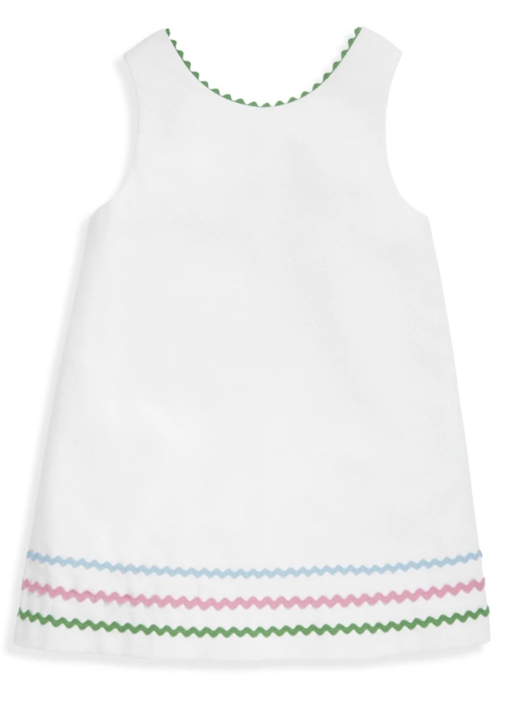 WHITE HELEN DRESS