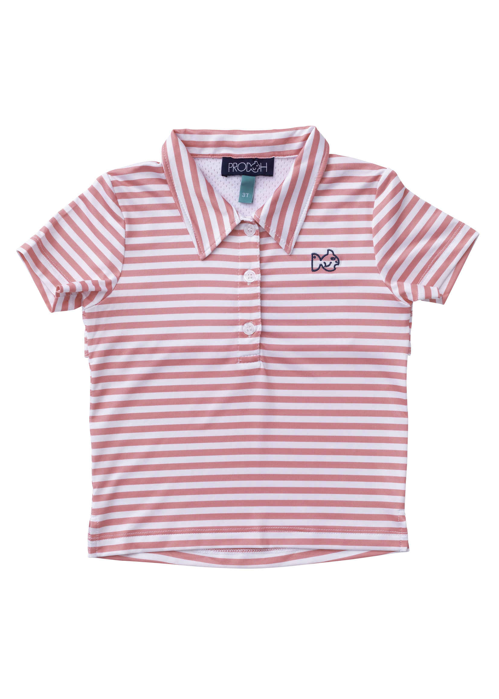 FLAMINGO PINK PERFORMANCE POLO