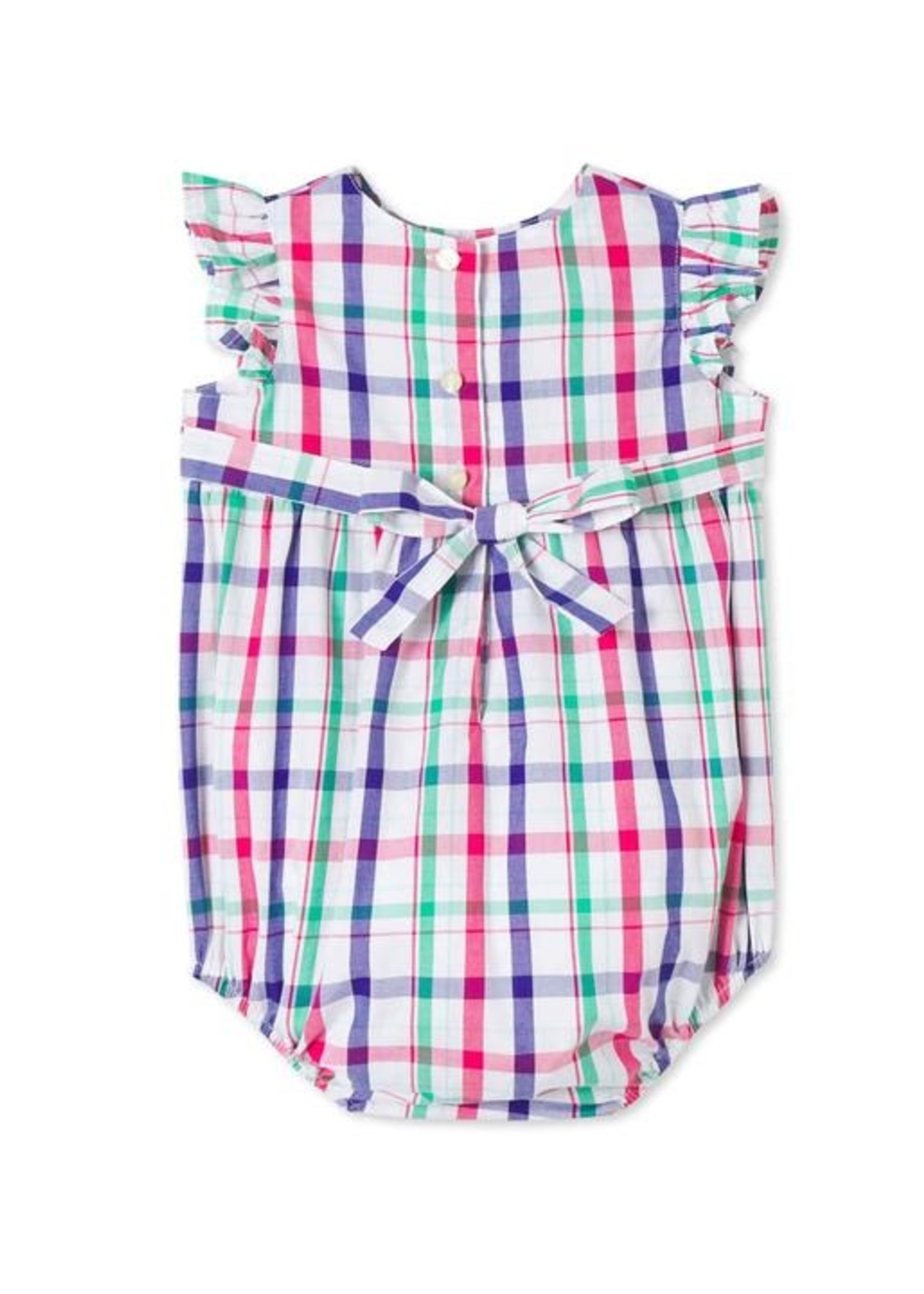 SHERBERT PLAID BEATRICE BUBBLE
