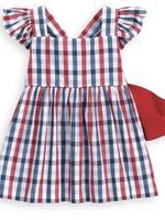 VALERIE ROSS CHECK DRESS