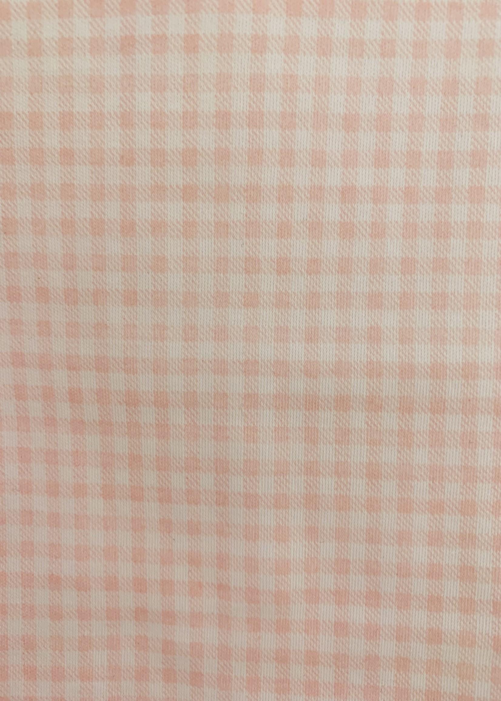 PINK VICHY BASICS CROCHET 2 PIECE SET