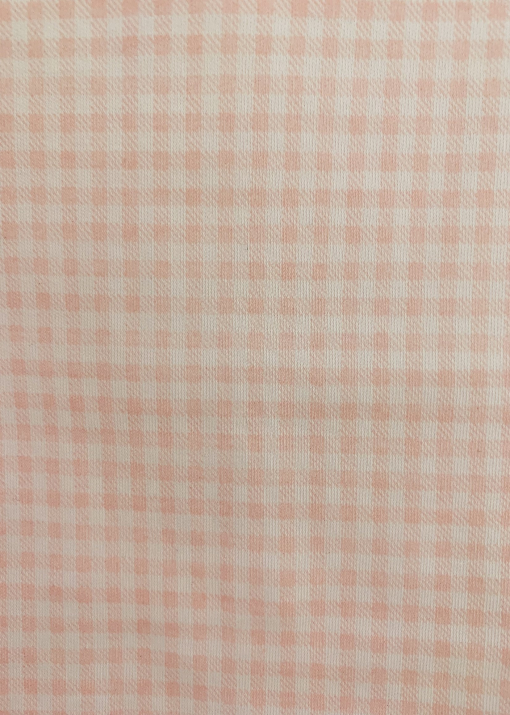 PINK VICHY BASICS CROCHET PJS