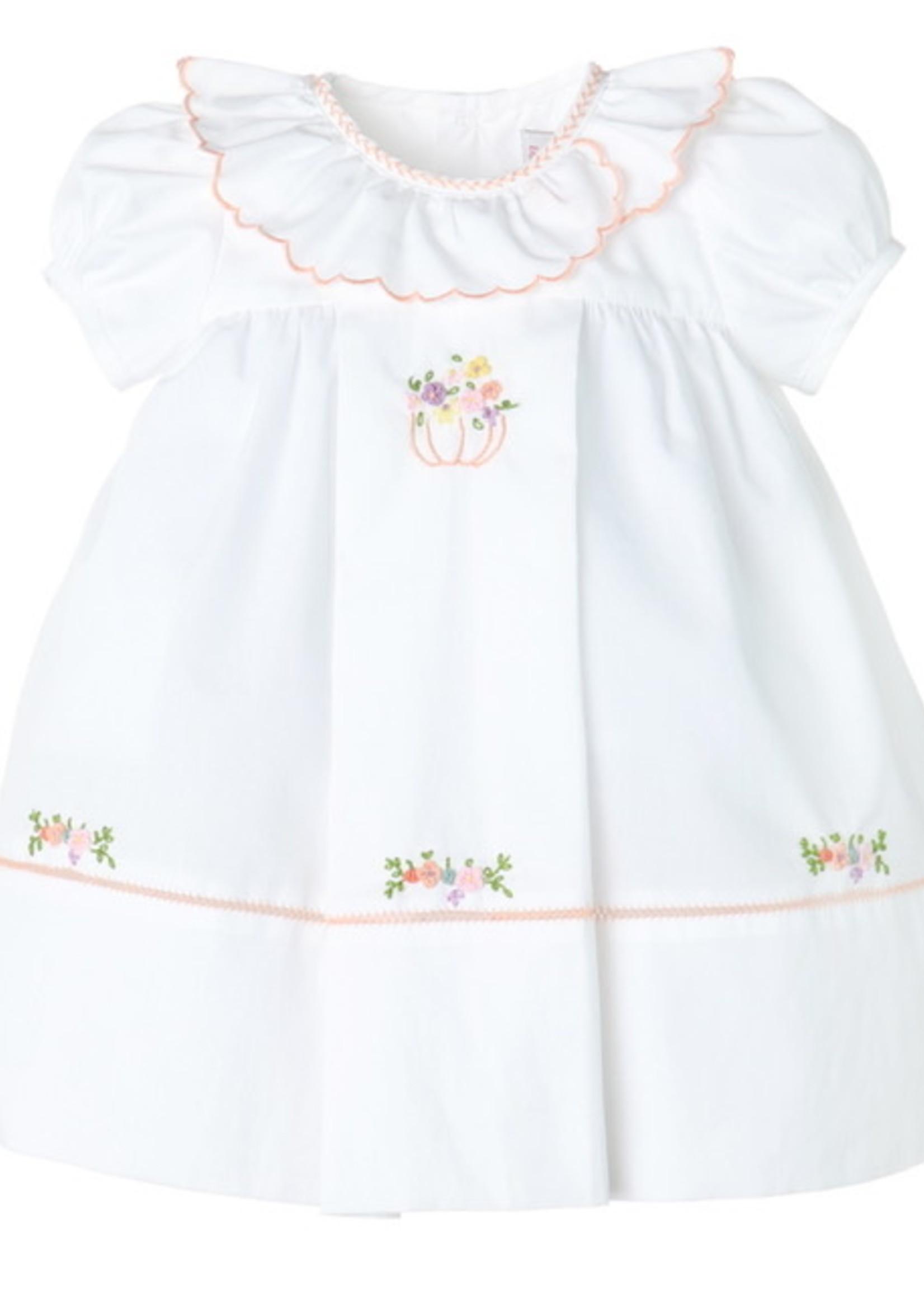 Floral Pumpkin Ruffle Dress