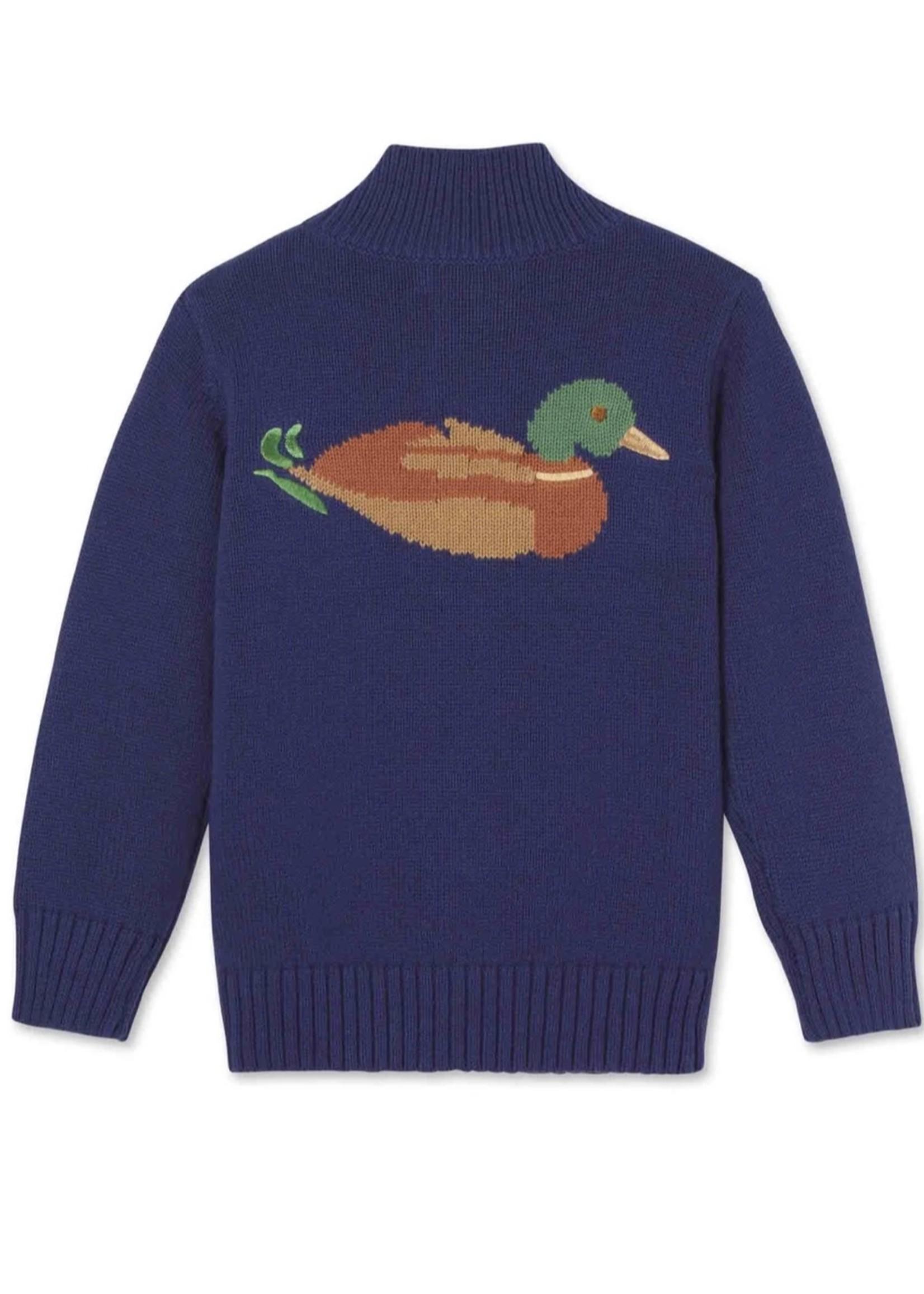 Scott Duck Sweater - Blue Ribbon