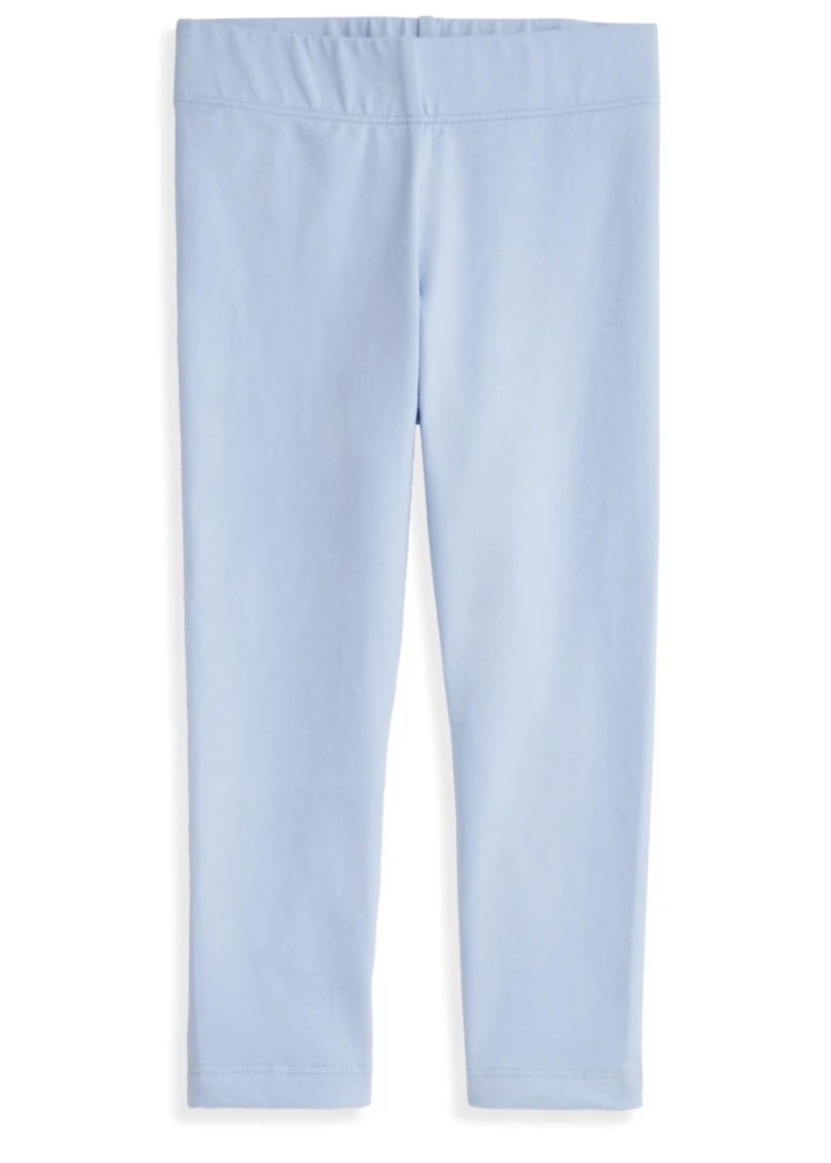Solid Pima Legging - Blue