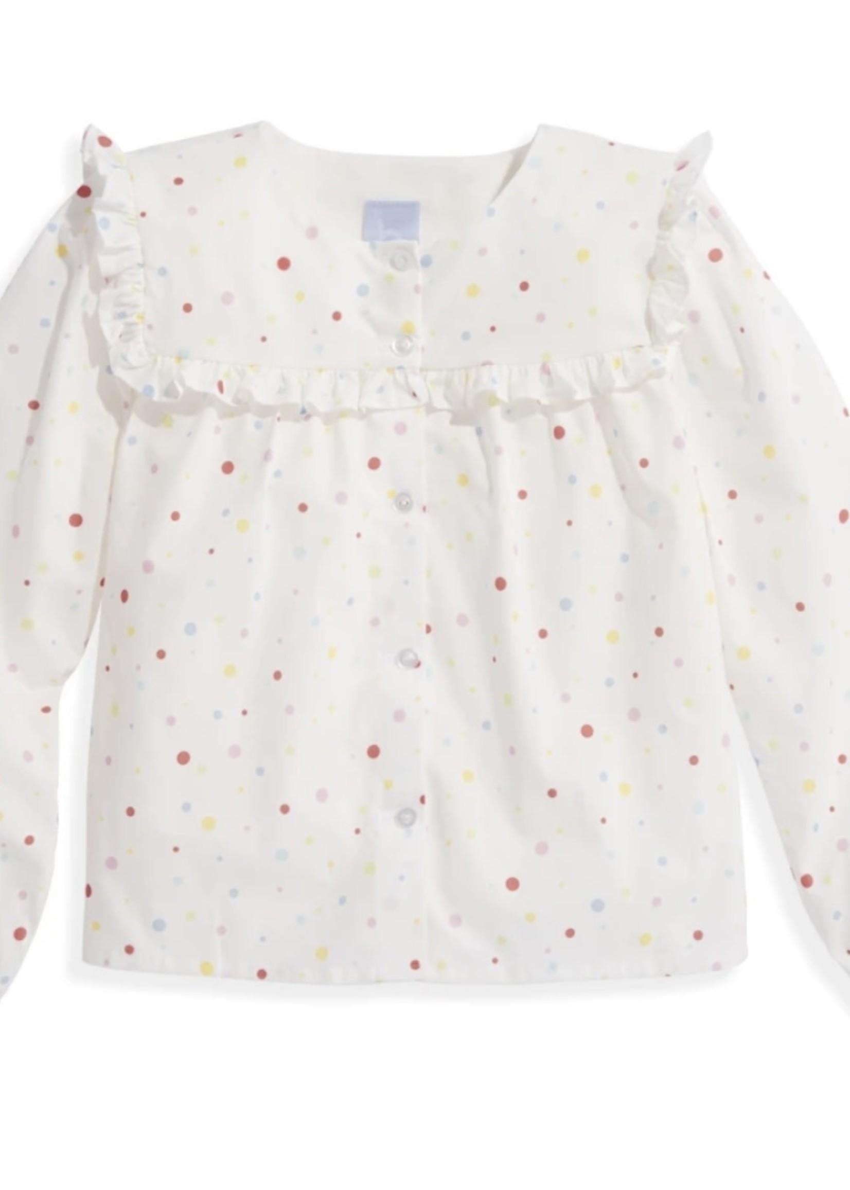 Meade Blouse - Confetti Dot