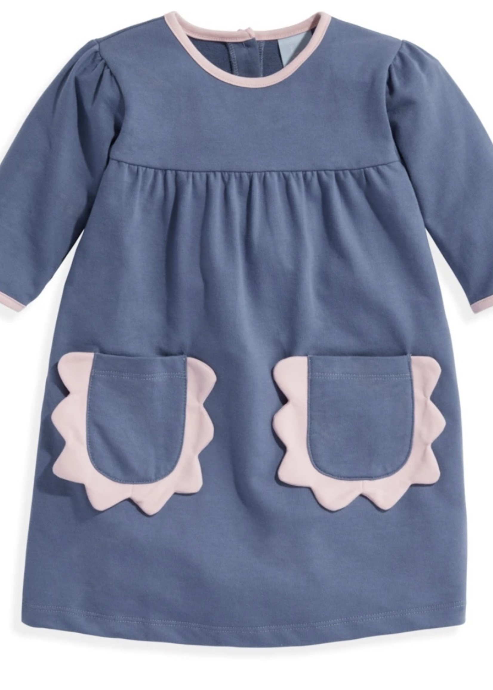 Sinclair Dress - Steel Blue