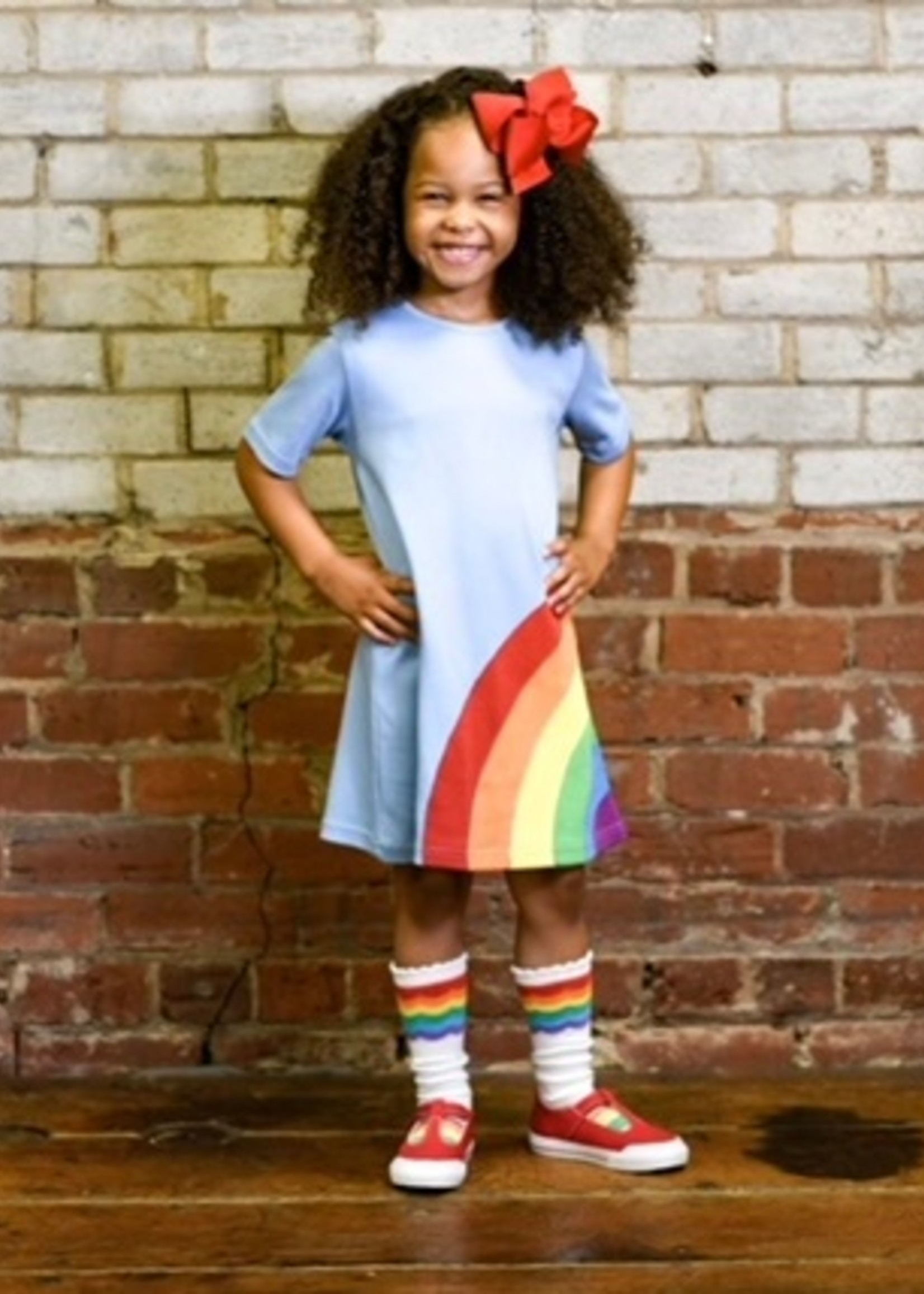 RYLEE RAINBOW DRESS