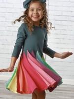 Radiant Twirl Dress - Orion Blue
