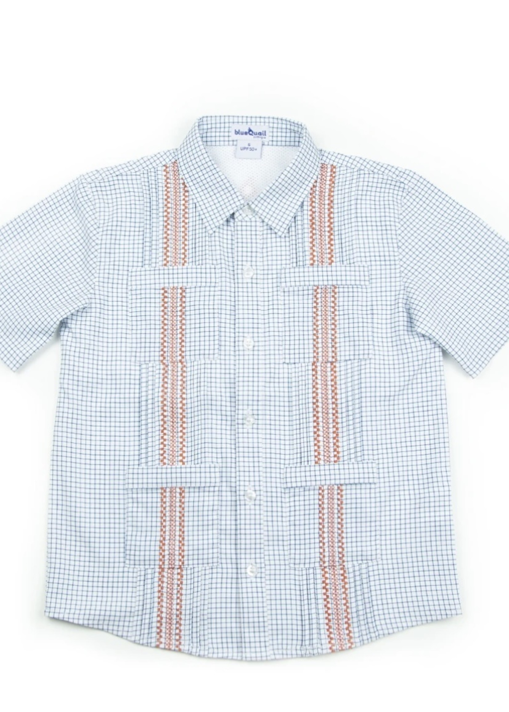 The Guayabera Collection Short Sleeve - Navy