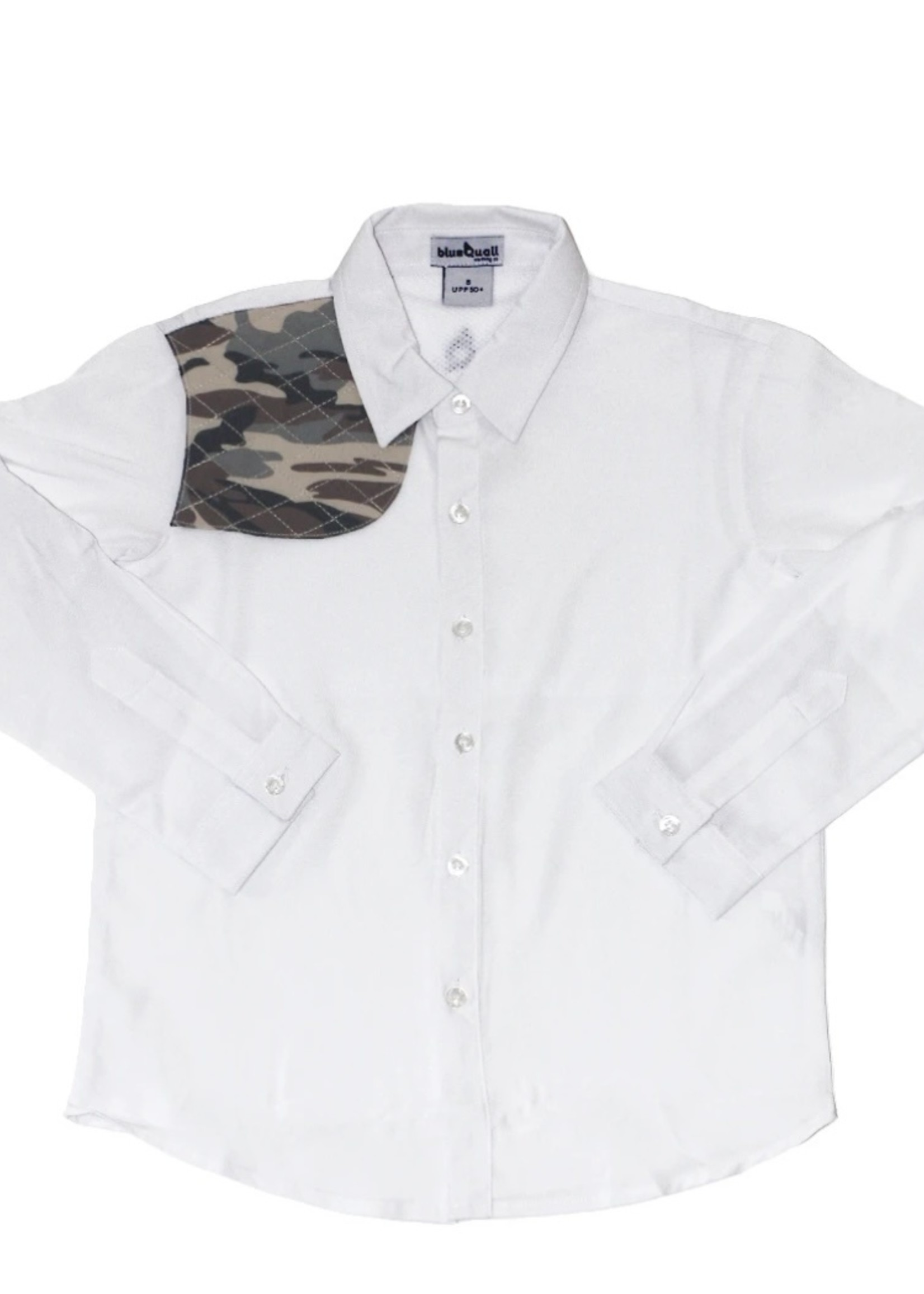 The Ranch Collection Long Sleeve - White w/Camo