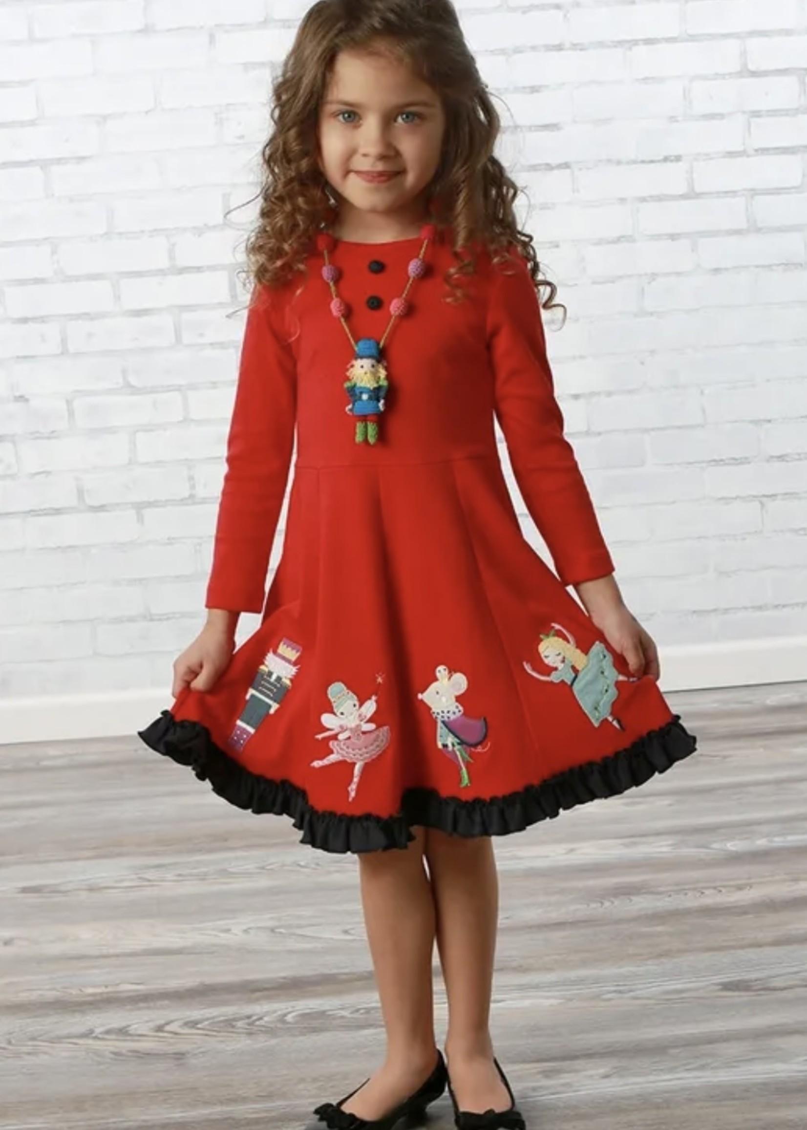 The Nutcracker Show Dress - True Red