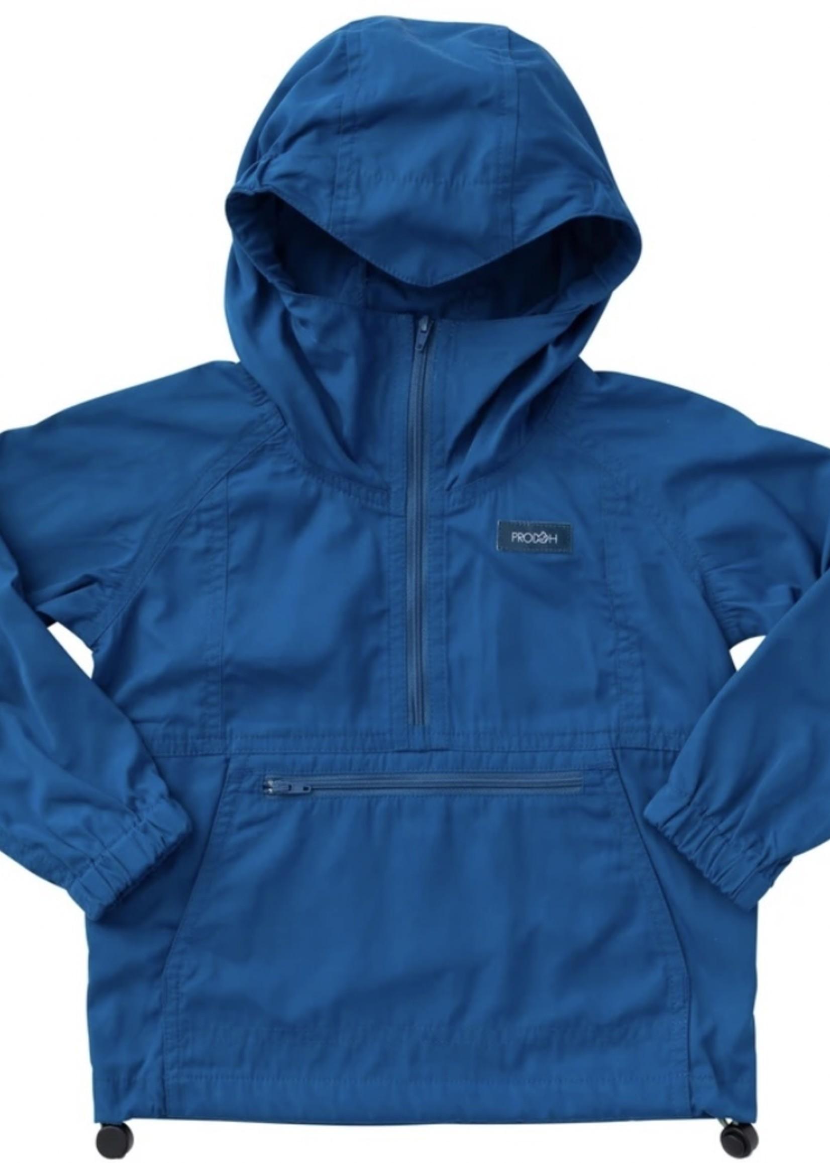 Anorak Pullover Jacket - Blueberry Pie