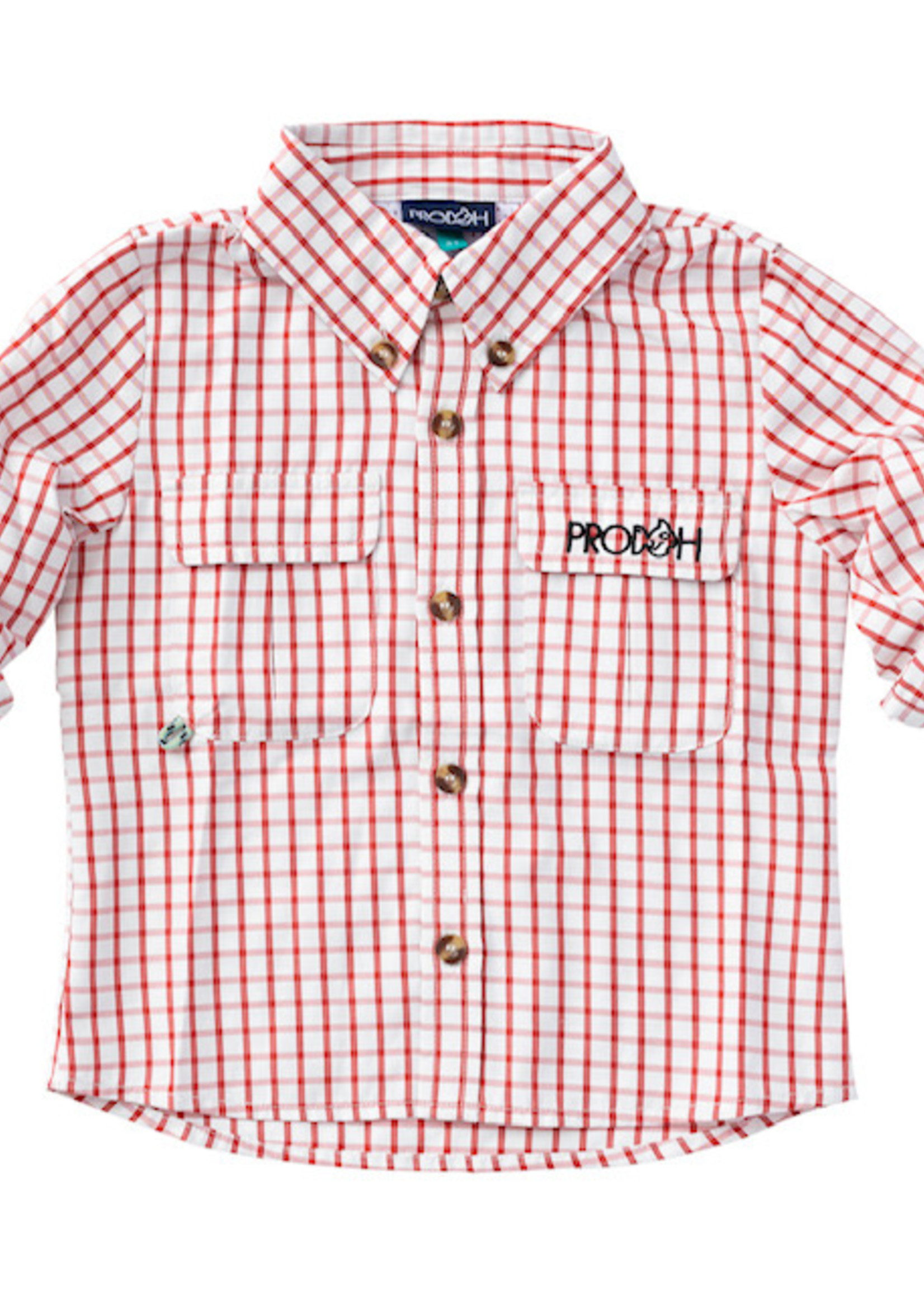 Gameday Fishing Shirts - (red)