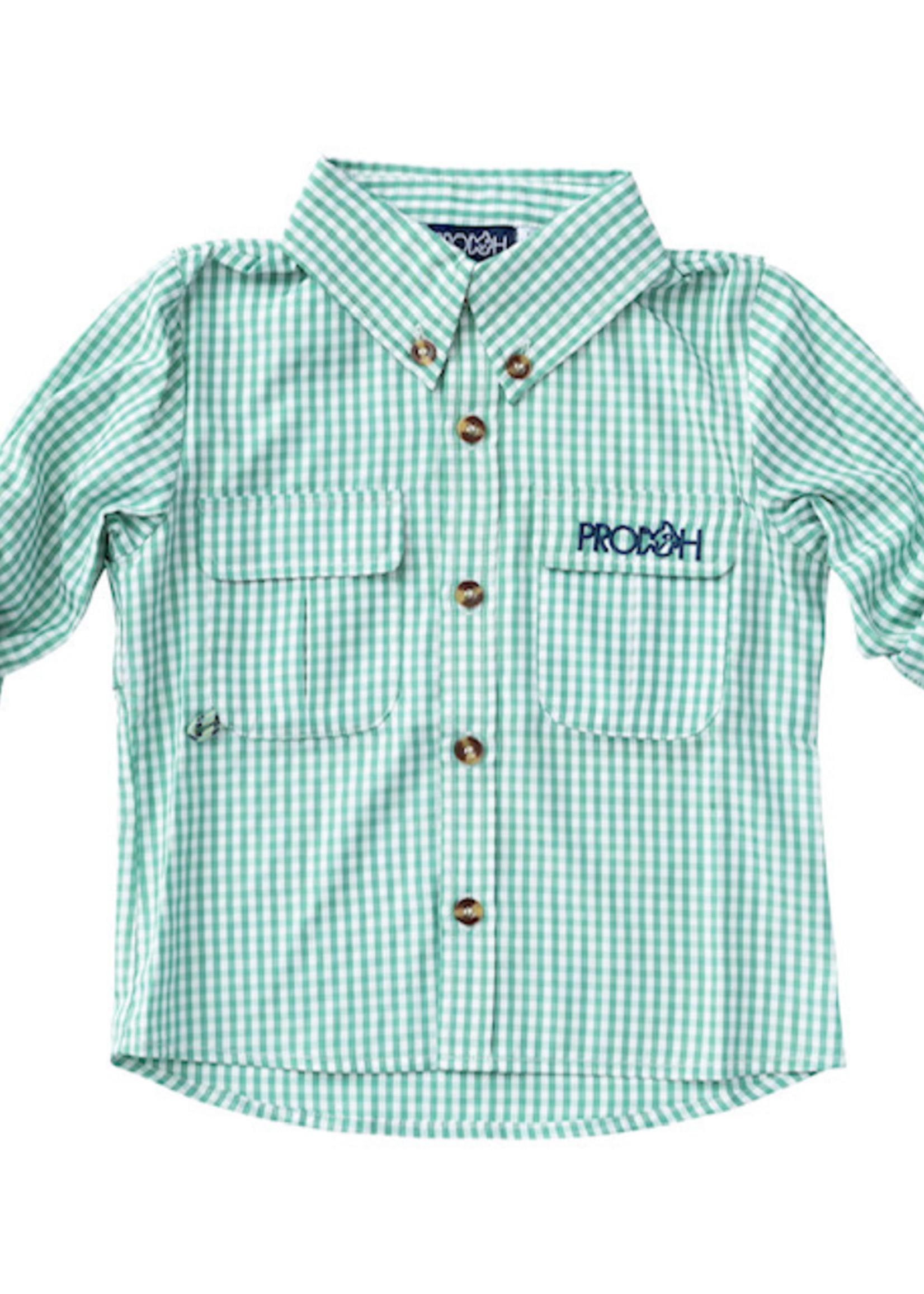 Fall 2021 Fishing Shirts - Jade