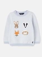 Peter Rabbit Ivy - ANIMAL FACES STRIPE