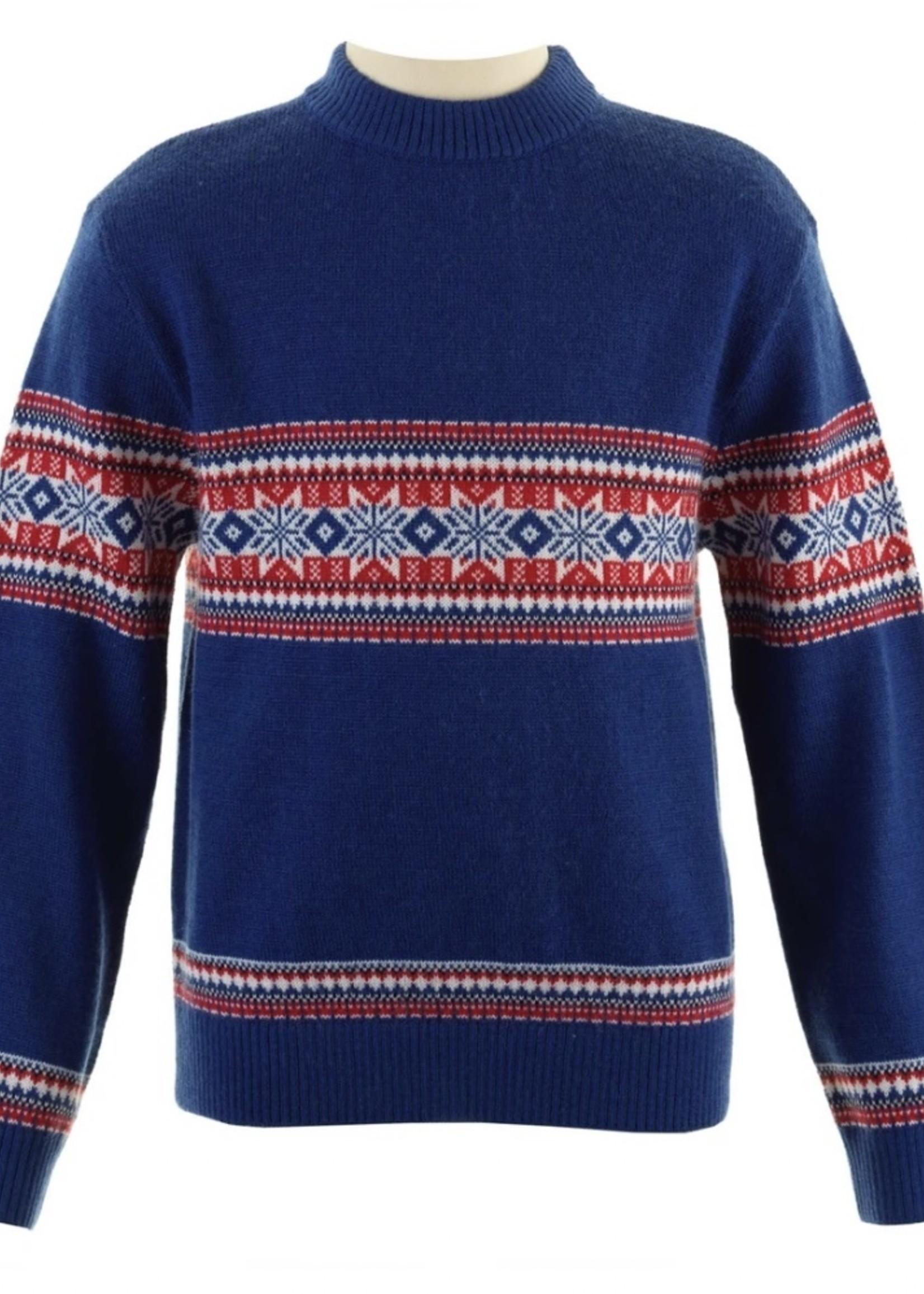 Fairisle Sweater Blue