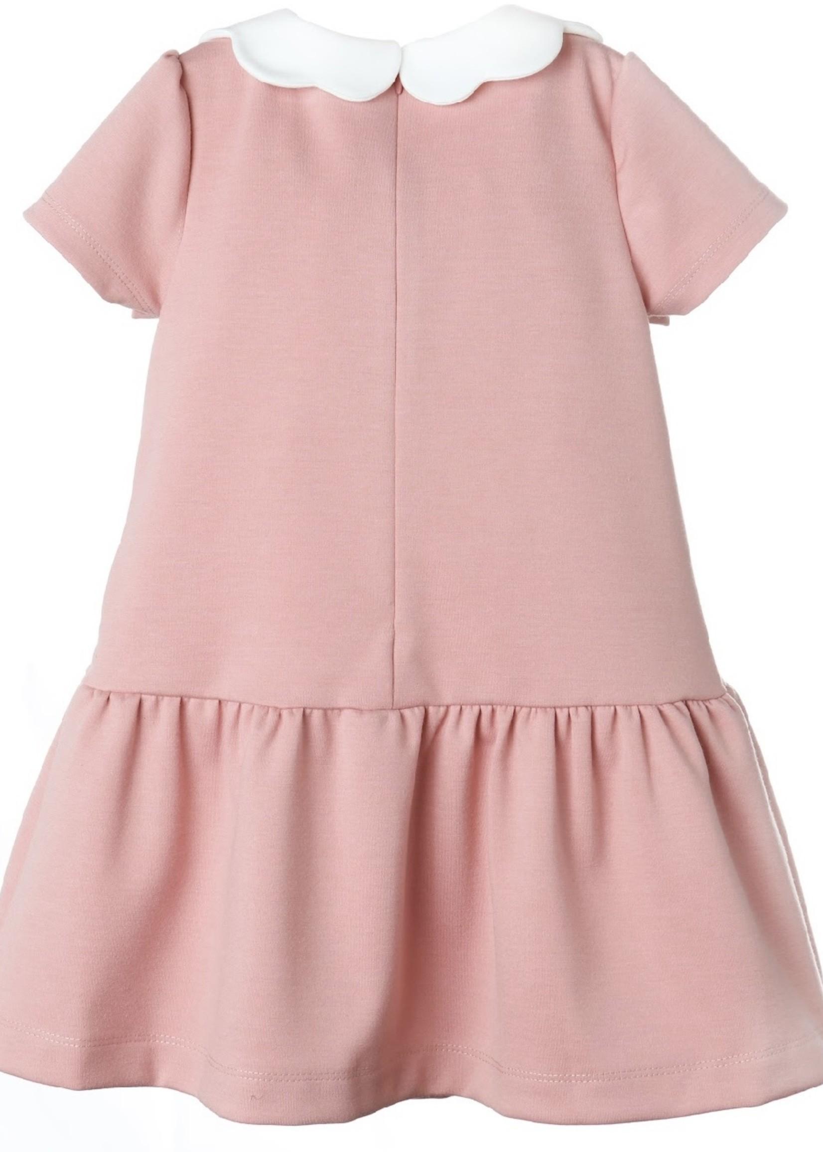 ROSE KNIT DROPWAIST DRESS