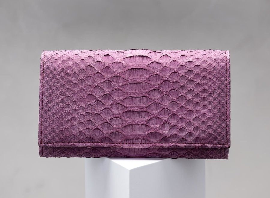 Lux Large Foldover Wallet