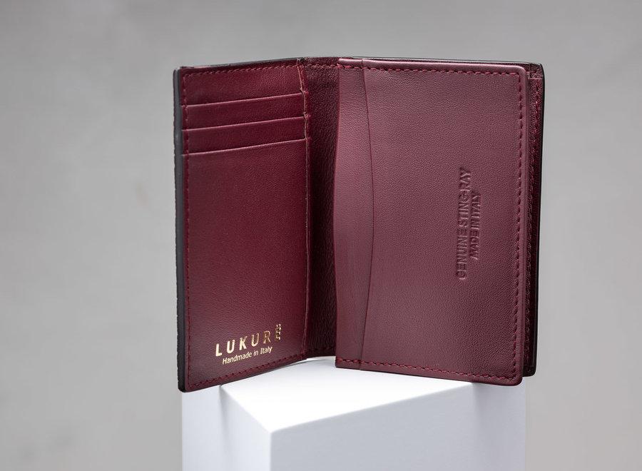 Lux Foldover Card Case