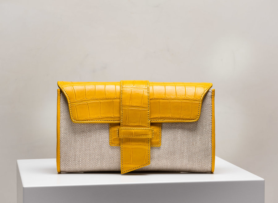 Canvas Clutch Crossbody