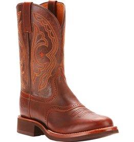 Boots-Men Ariat 10025109 Vintage Caramel  Quantum Crepe