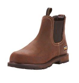 Boots-Men Ariat 10024983 Chelsea Groundbreaker H2O