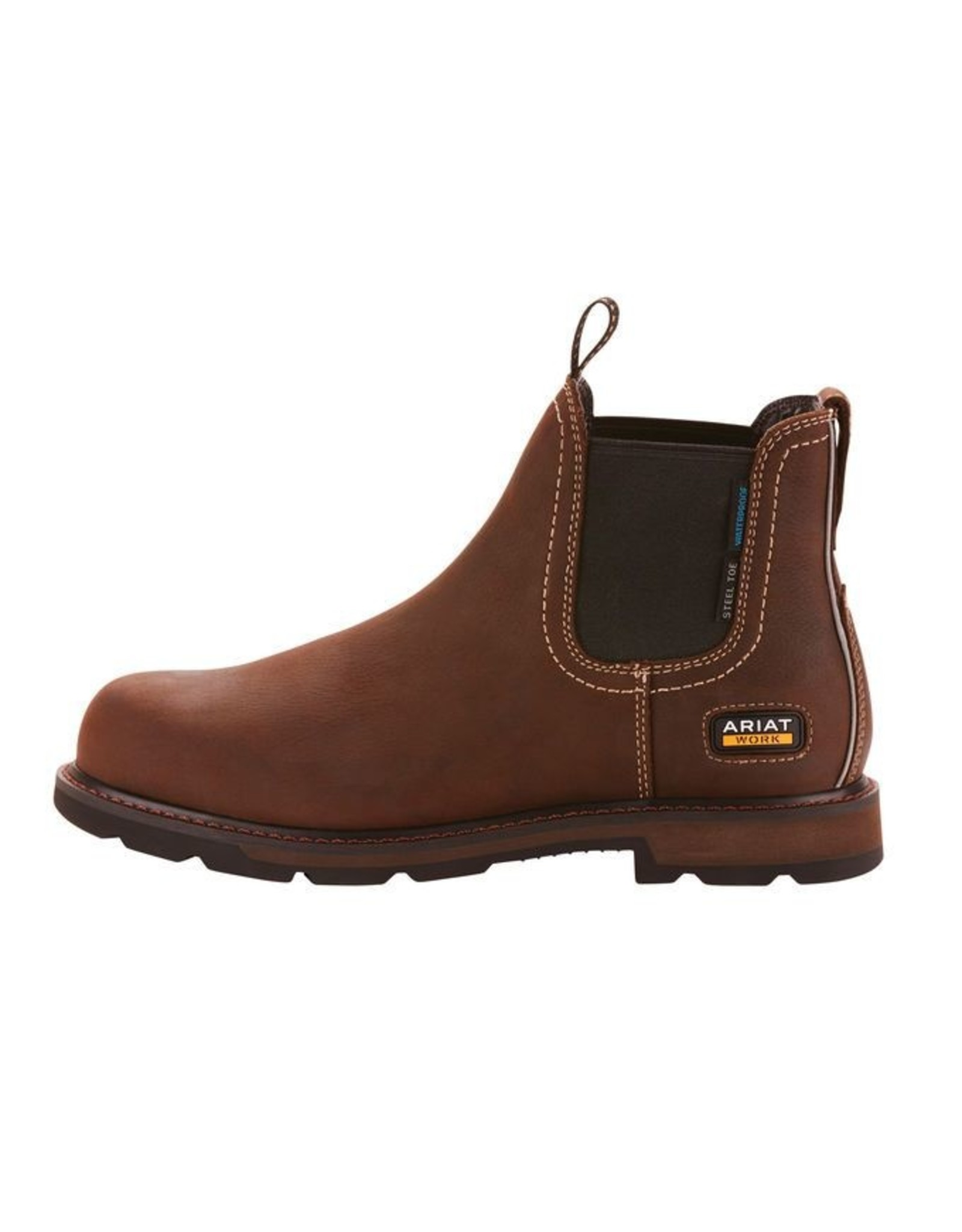Boots-Men Ariat 10024983 Chelsea Groundbreaker H2O