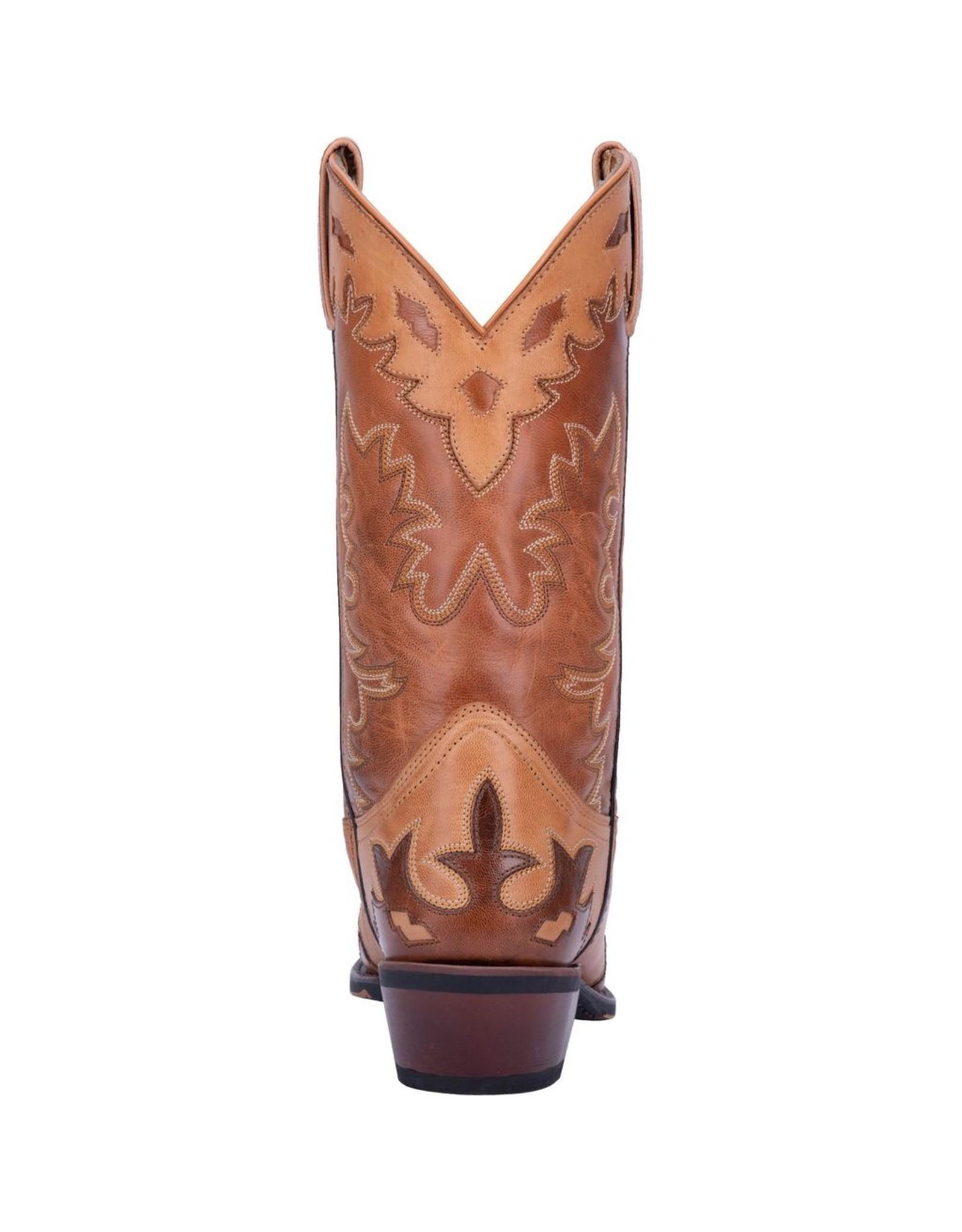 Boots-Men Laredo 6765 Nash 12��� Antique Tan Snip Toe
