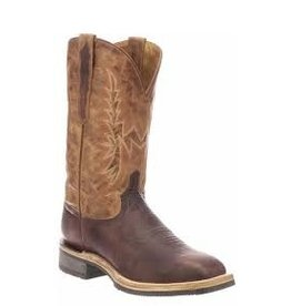 Boots-Men Lucchese M4090.WF Rudy Chocolate/Peanut Cow
