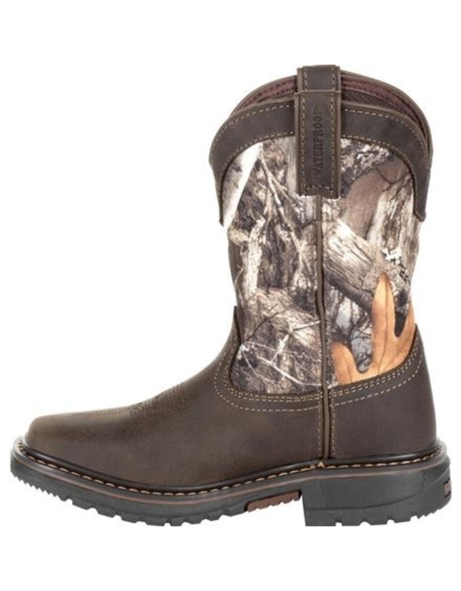 Boots-Children Rocky RKW0285C Realtree Original Ride Flx