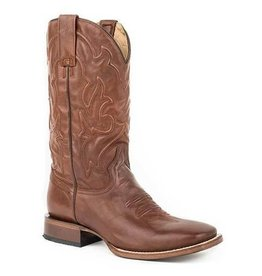 Boots-Men Stetson 12-020-8811-1645 Mossman Burnished Brown