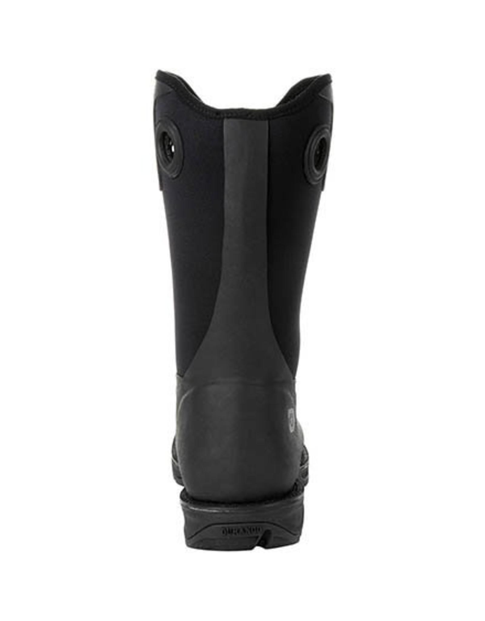 Boots-Men Durango DDB0209 Rebel Rancher Black Boot