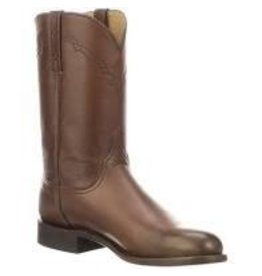 Boots-Men Lucchese M0030.C2 Lawrence Brown Calf