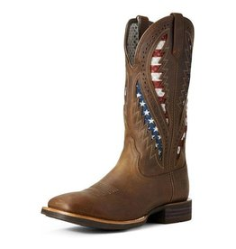 Boots-Men Ariat 10027165 Quickdraw VentTEK Brown