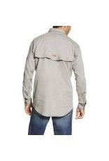 Tops-Men Ariat 10019063 FR Flame Resistant Silver Vent
