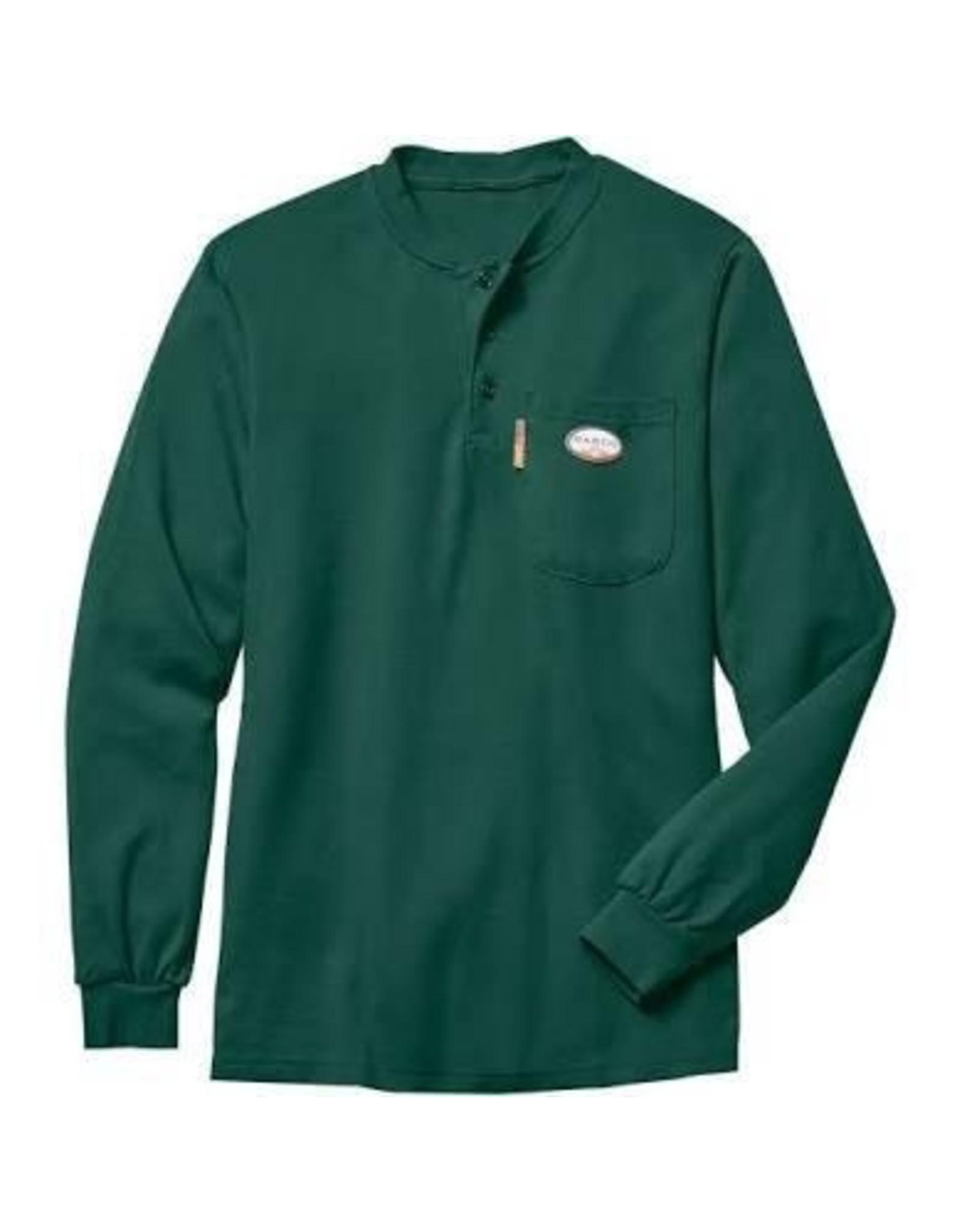 Tops-Men RASCO FR0101GN Henley T-Shirt